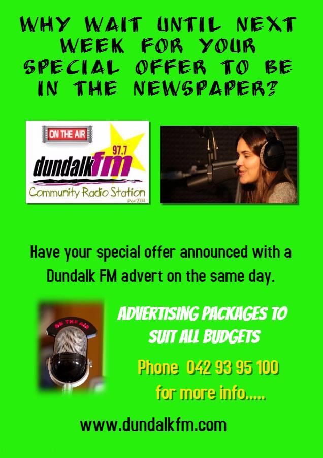 Dundalk FM advertise2
