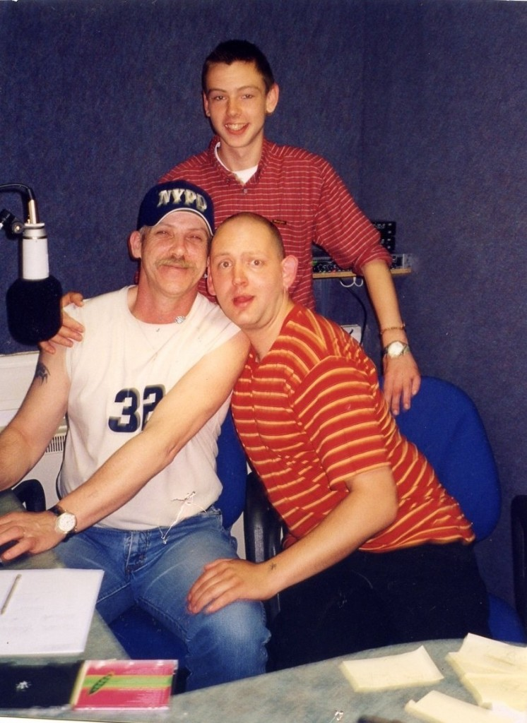 Paddy McEneaney, Stephen Elliot and Pete Johnson.