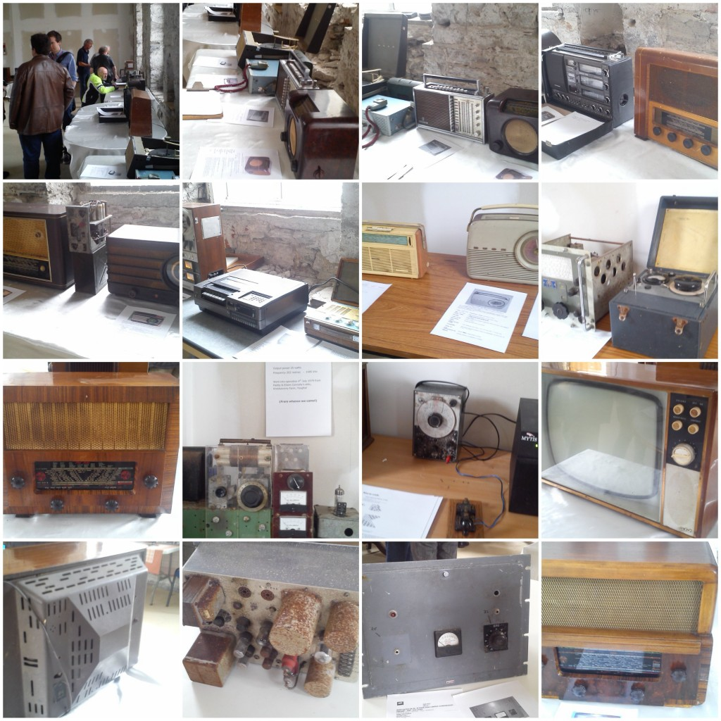 Noel Cronin's CRY FM Radio Museum. Youghal. Pic 1