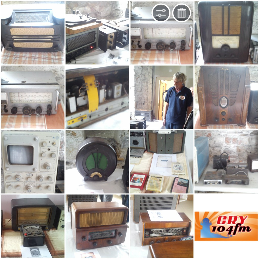 Noel Cronin's CRY FM Radio Museum. Youghal. Pic 2