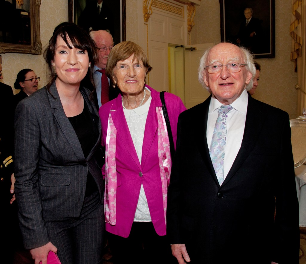 No fee for repro - please credit Paul Sherwood CRAOL - 20th Anniversary. Visit to the Aras by members of CRAOL.