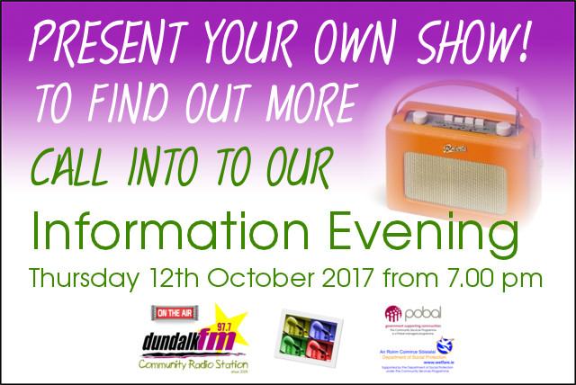 Info Evening 12 oct 2017
