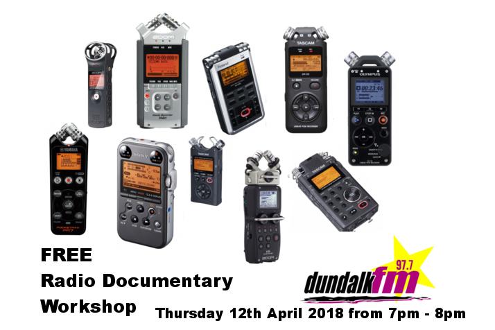 Radio Doc Workshop 12 Apr 2018