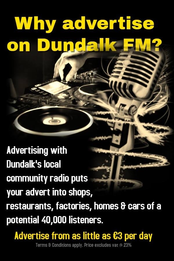 Dundalk FM advertise1