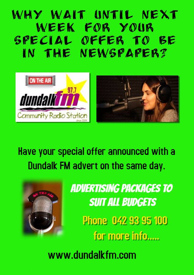 Dundalk FM advertise2
