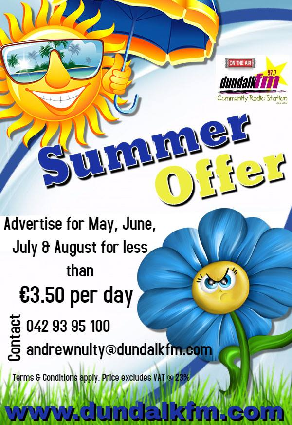 Dundalk FM advertise3
