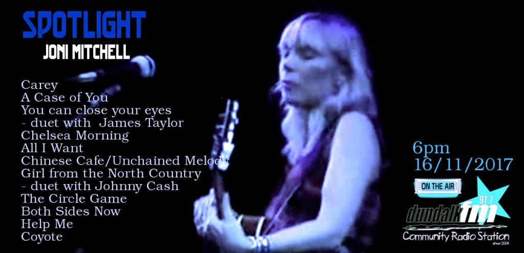 Joni Mitchell Spotlight
