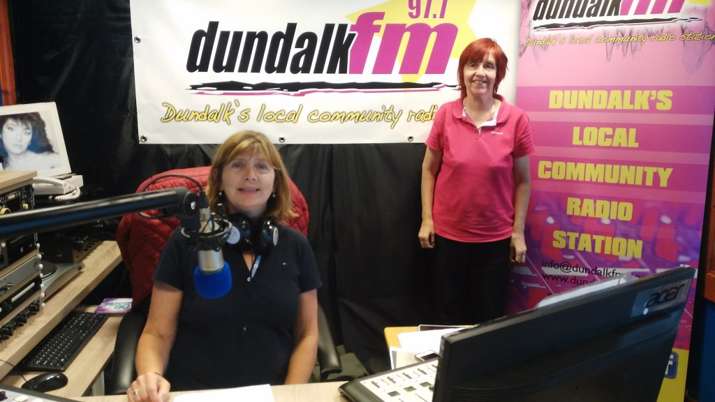 Mary Rose Muckian and Marian Del Duca Dundalk FM Drive Time Presenters 20200620
