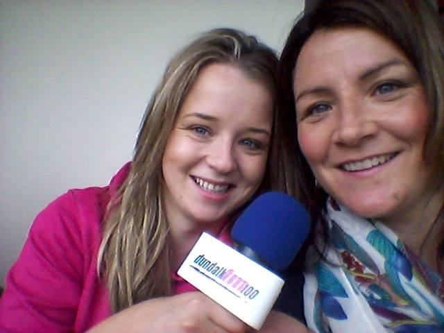 Louth Ladies GAA Final 2015 commentators Patsi McGuinness and Orlaith Kirk
