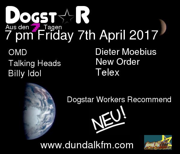 3 Dogstar 7 April 2017