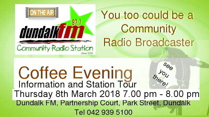 Coffee Evening the March 8th March 2018