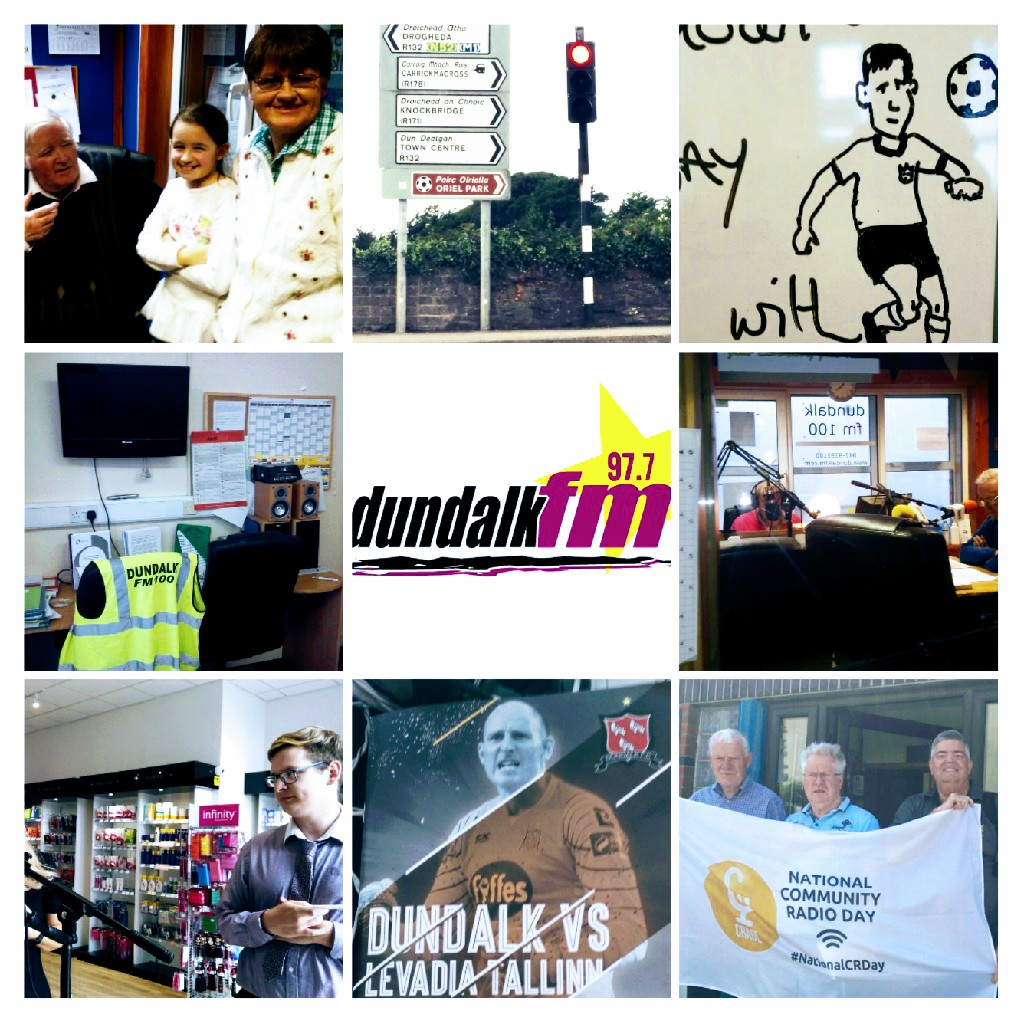 Dundalk FM collage 20180912