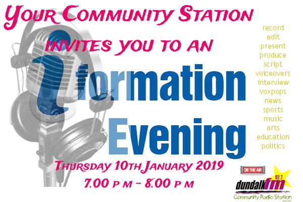 20190110 Info Evening