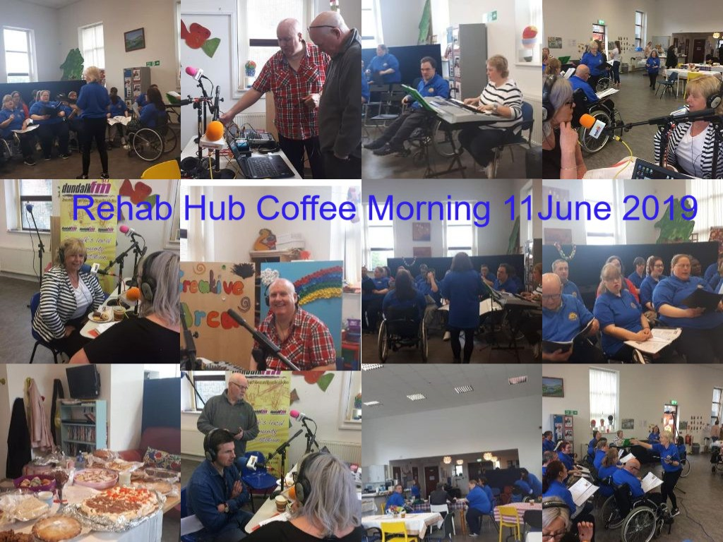 Rehab Hub Coffee Morning 11 June 2019