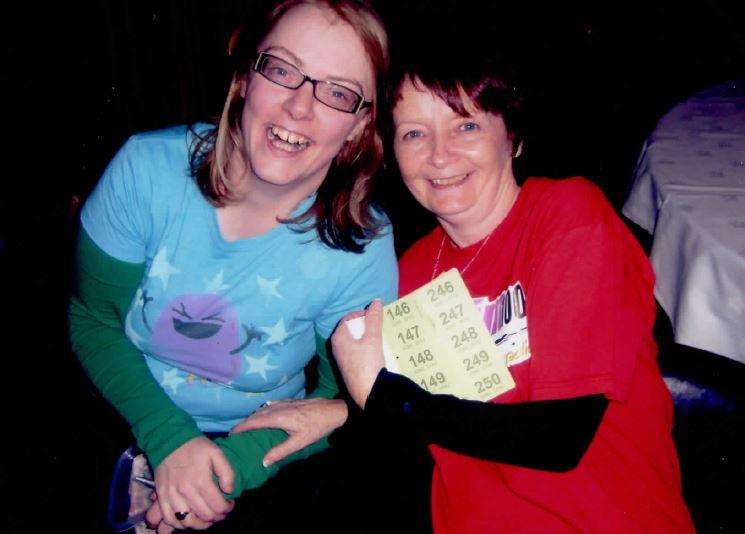Rosemary Farrell and Gina Clarke