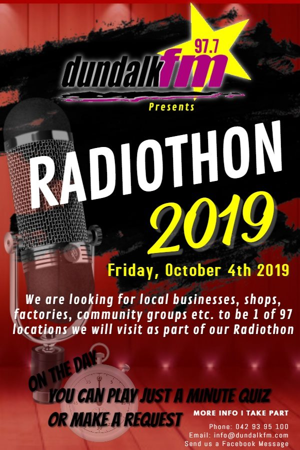 Radiothon 2019 poster