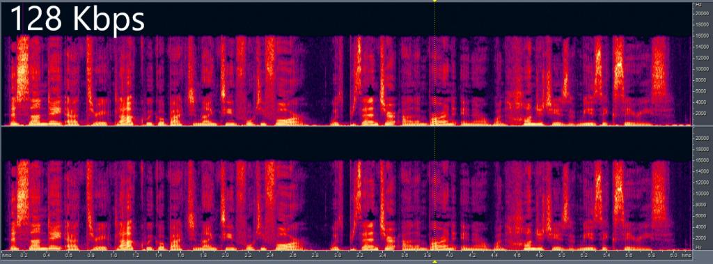 128 16000 Hz