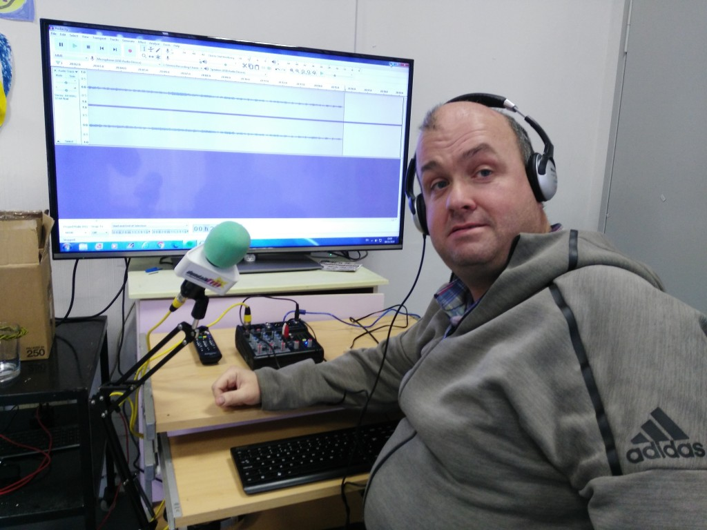 Jason Kelly at RehabCare Studio