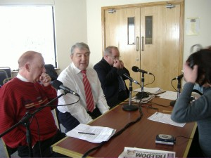 Eamon O Boyle, Jim Ryan, Seamus Byrne, Redeemer Resource Centre